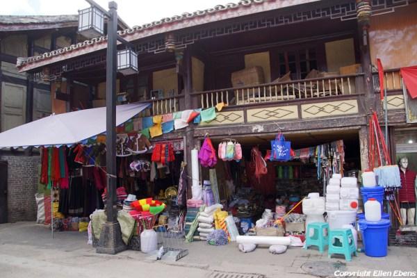 Shops at Songpan Ancient Town