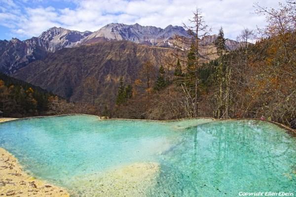 Huanglong National Park: Mirror Pond