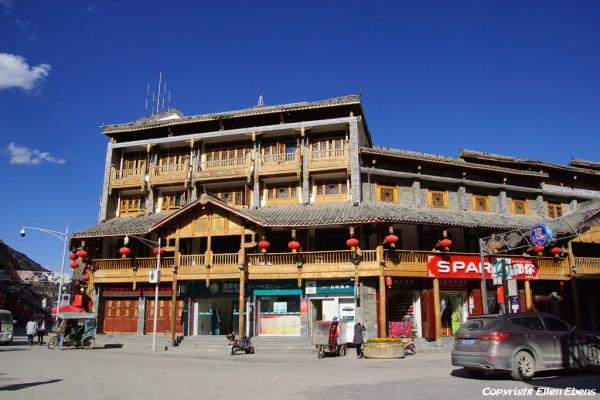 Street at Songpan Ancient Town
