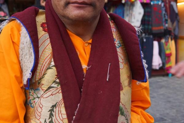 Lhasa, a monk at the Barkhor