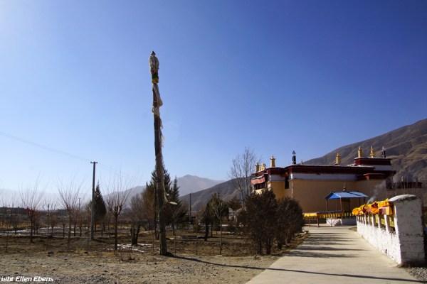 A small monastery near Gonkar Airport