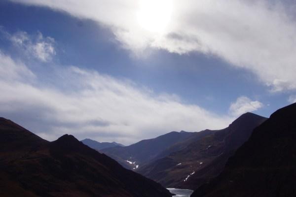 On the Simu La Pass (4280m)