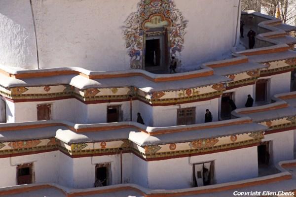 The Gyantse Kumbum stupa with it's endless series of tiny chapels