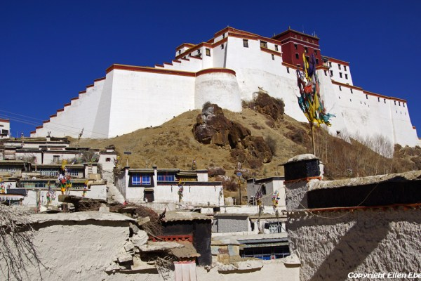The Shigatse dzong