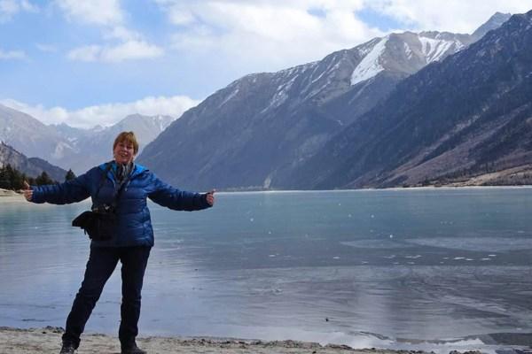 Me at Ranwu Lake