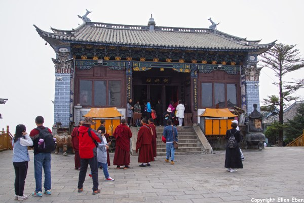 Jizu Shan (Jizu Mountain), the Jinding Temple