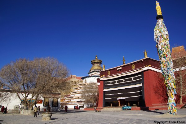 The Main Assembly Hall of Pelkor Chode Monastery