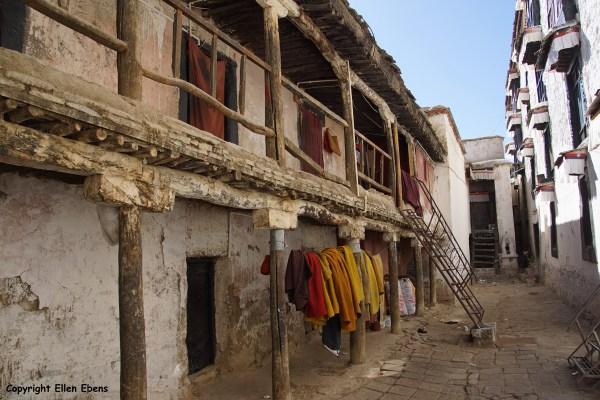 Monks housing at Tashilhunpo Monastery, Shigatse