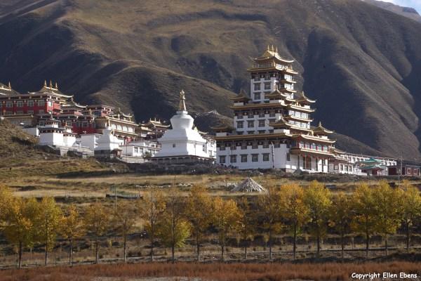 Monastery near Yushu