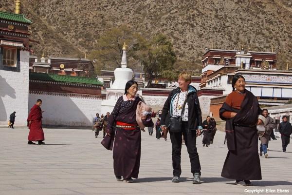 Labrang Monastery at Xiahe