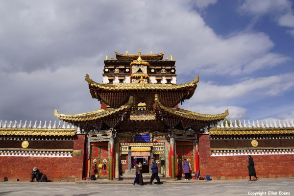 Milarepa Temple at Hezuo
