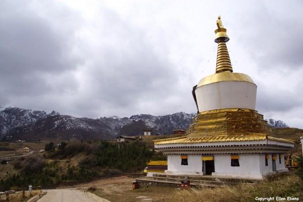 Stupa at Langmusi