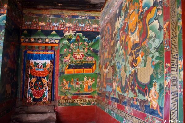 The Ganden Chökhorling Monastery at Tsedang
