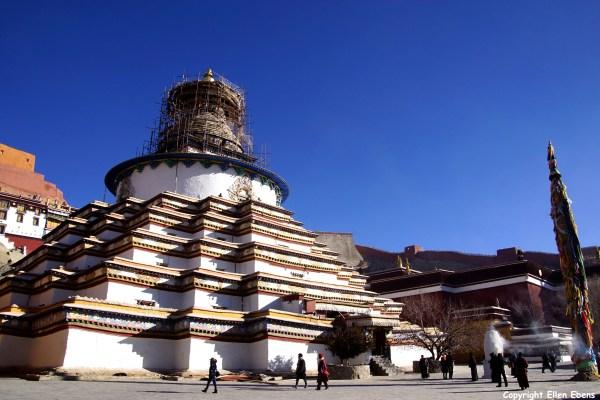 The Kumbum Stupa at Gyantse