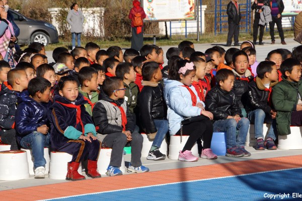 Songpan school sporting event