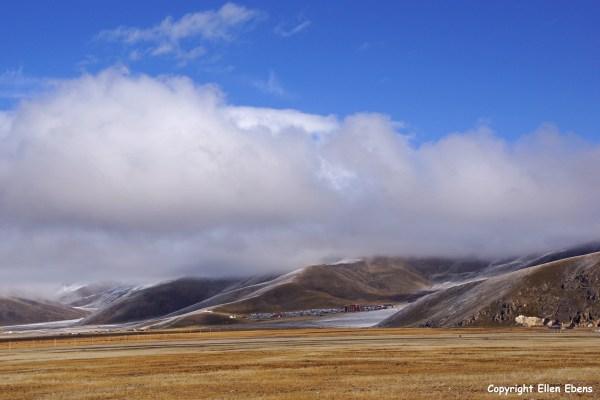 Yushu Nangchen landscape monastery