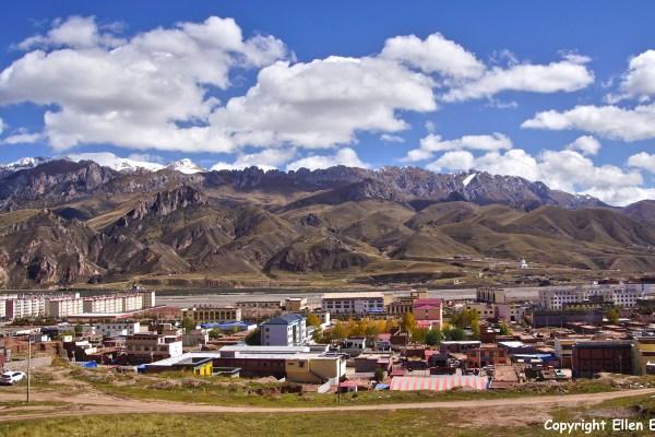 Nangchen town
