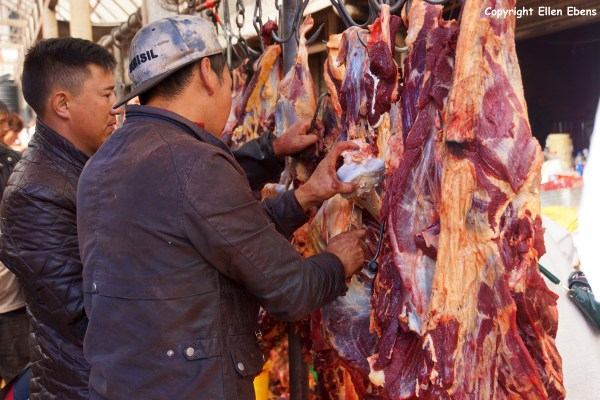 Songpan meat market