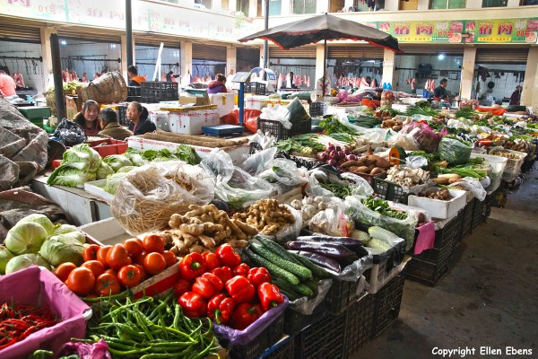 Songpan market