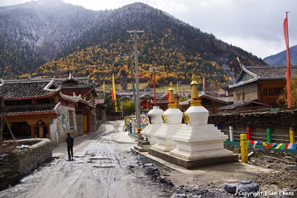 Songpan Tibetan village