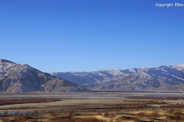 Yarlung Tsangpo river valley