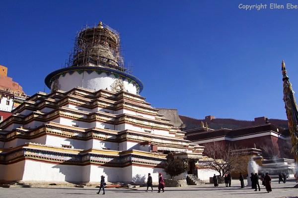 Gyantse Kumbum stupa