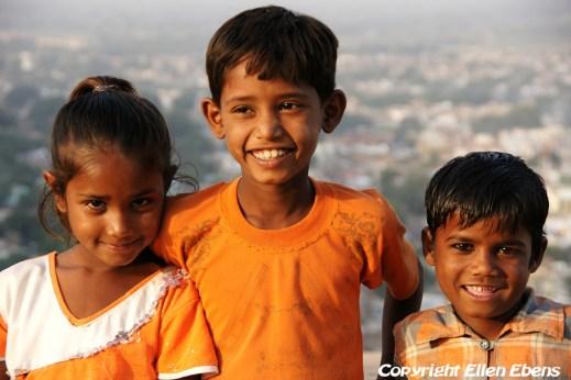 Kids at Gwalior