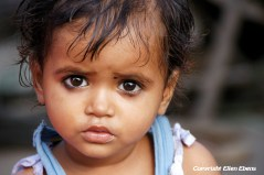 Beautiful eyes of a child