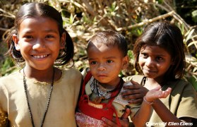 Children at Pachmarhi