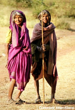 Old ladies at Pachmarhi