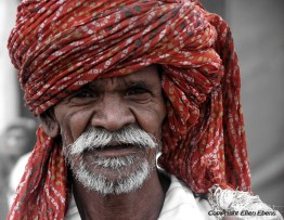 Man at the city of Ujjain