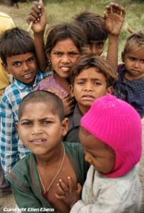 Semi-nomadic children