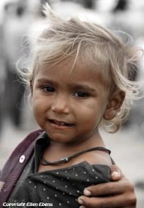 Little semi-nomadic boy