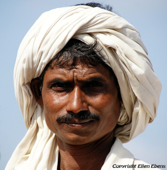 Semi-nomadic man from Rajasthan