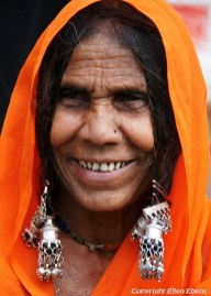 A woman of the Bhil Tribe