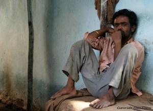 Man at the city of Bijapur