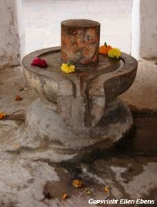 Sanctuary at the Jahangir Mahal Palace, Orccha