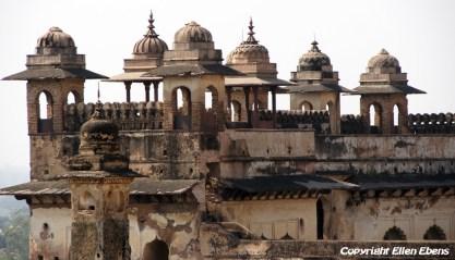 The Jahangir Mahal Palace, Orccha
