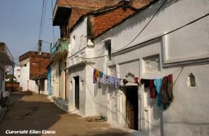 A street in Khajuraho