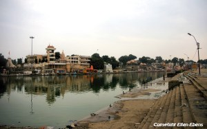 The river in the centre of the city of Ujjain