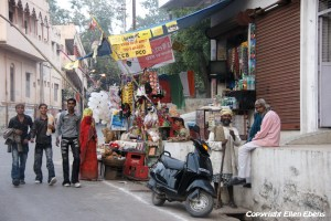 Street in the city of Ujjain