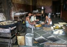 Food being prepared