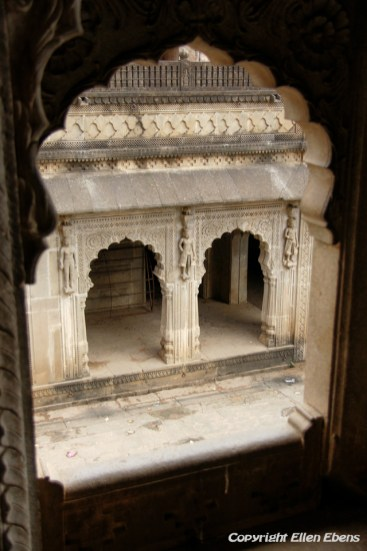 Inside the Palace Fort of the city of Maneshwar