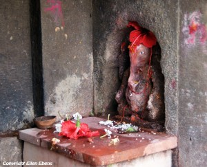 Little sanctuary for the god Ganesha, Maneshwar