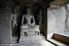 Ellora cave temples: 34 Buddhist, Hindu and Jain rock-cut temples and viharas and mathas were built between the 5th century and 10th century.