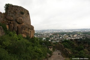 Golconda fort near the city of Hyderabad