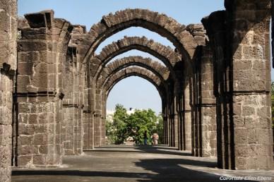 Bara Kaman is the unfinished mausoleum of Ali Adil Shah II in Bijapur