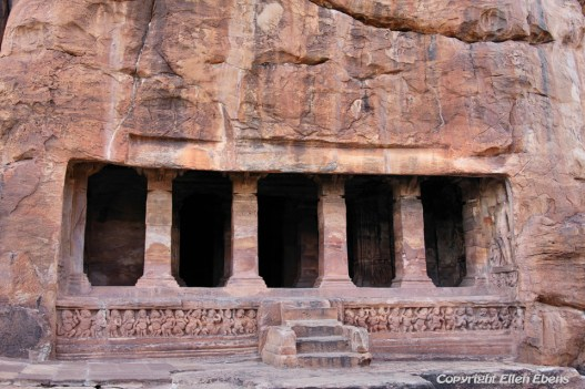 Badami is famous for rock cut and other structural temples
