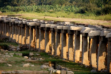 The ruined temples and palaces of Hampi