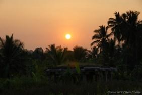 Sunset at Hampi